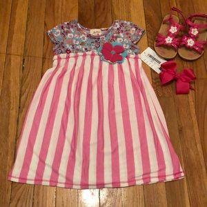 NWT Vanilla Creme Toddler Dress- Sz 4T